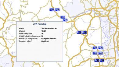 Autoritățile din Rheinland-Pfalz au digitalizat 1.060 de locuri de parcare pe A 61