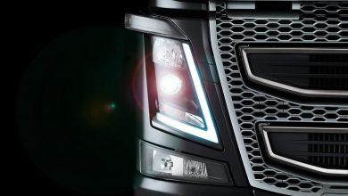 Design-ul farurilor camioanelor Volvo a fost inspirat de gheață