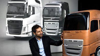 Grila frontală a camioanelor Volvo nu are doar rol estetic
