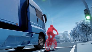 Din 2021, camioanele fără sistem de asistență la virare nu mai pot circula în Viena