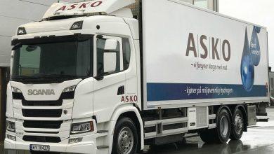 ASKO utilizează camioane electrice alimentate cu hidrogen