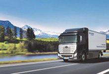 Hyundai a livrat primul camion electric cu hidrogen în Elveția