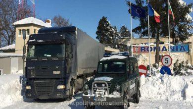 Restricții de trafic pentru camioane la punctele de frontieră Giurgiu și Calafat