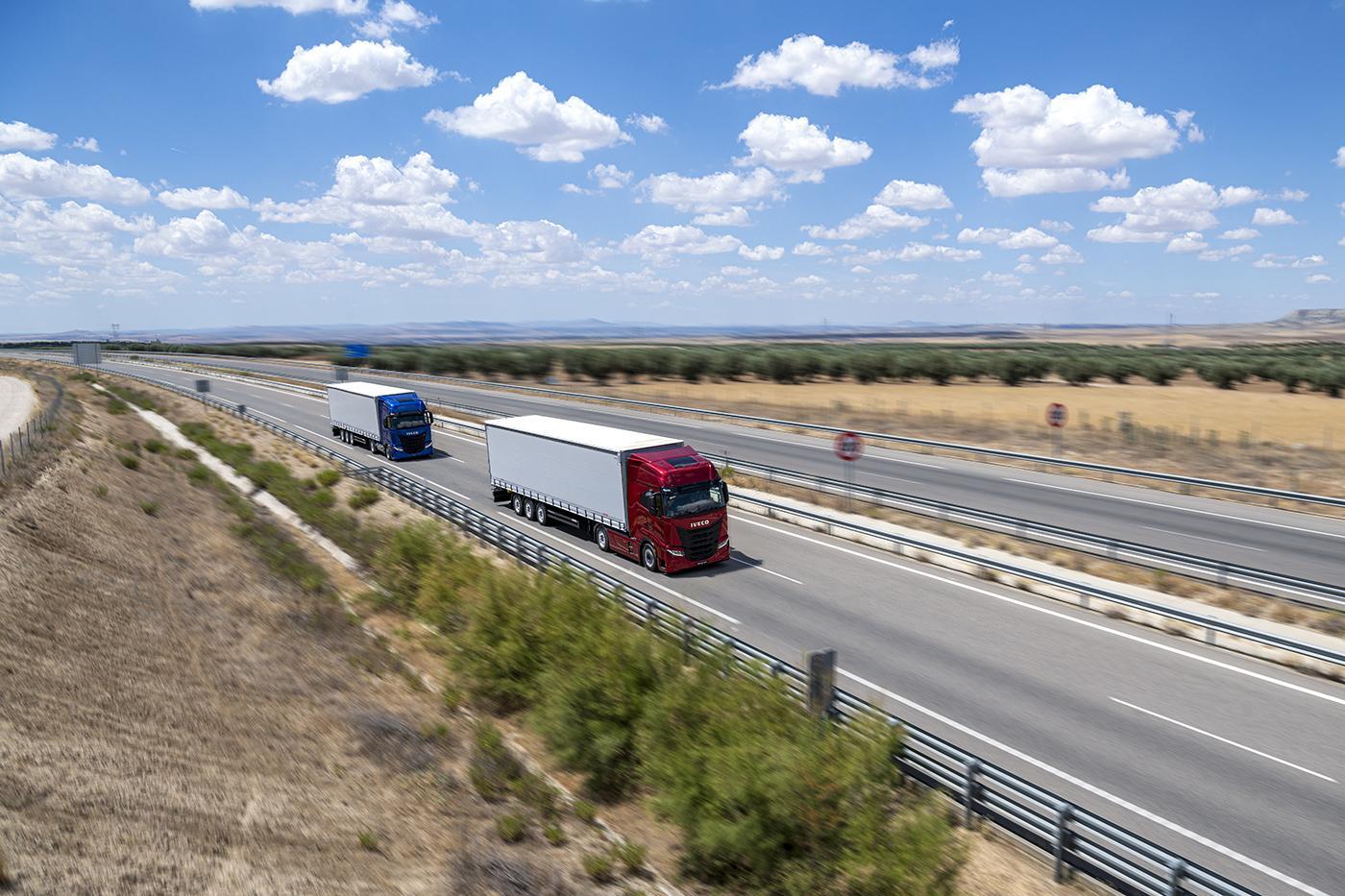 Caravana IVECO S-Way Tour 2020 a debutat la 1 martie