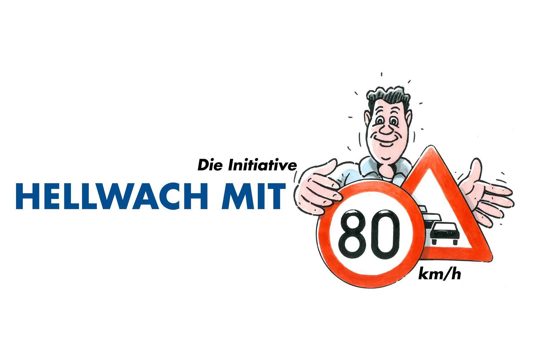 """""""Hellwach mit 80 km/h"""", cea mai amplă campanie de siguranță rutieră din Germania"""
