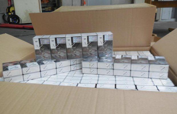 Șofer român, amendat cu 555.669 de euro pentru contrabandă cu țigări