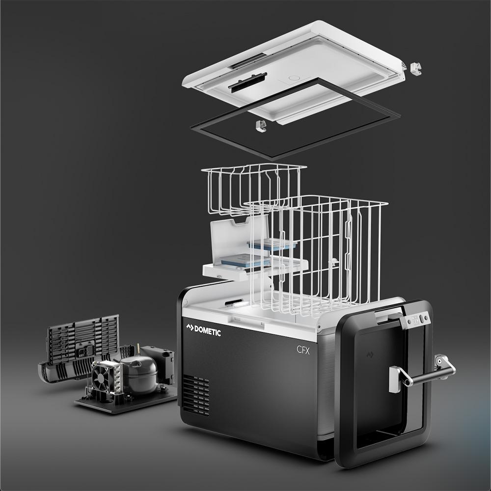 Noul frigider de cabină Dometic CFX3 cu un volum de până la 88 de litri