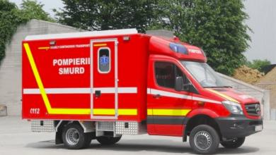 Prima ambulanță dedicată transportului pacienților infectați cu COVID-19