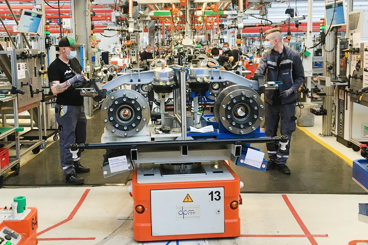 Din 27 aprilie, MAN va relua producția de camioane și autobuze în Germania