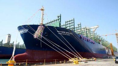 HMM Algeciras, cea mai mare navă de transport containere din lume