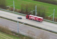 Autostrada electrificată reduce poluarea și costurile pentru transportatori