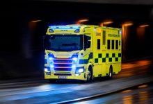Ambulanță de terapie intensivă bazată pe șasiu Scania R