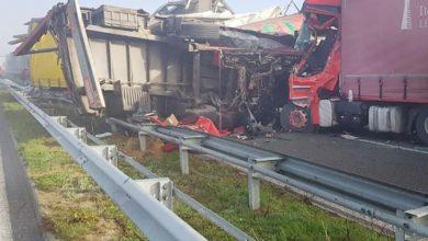 Bulgaria: 22 de camioane implicate într-un accident rutier în lanț
