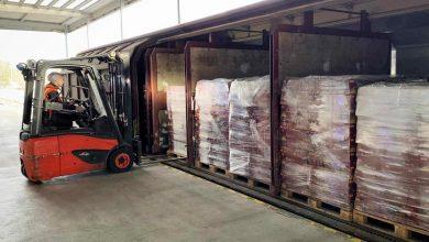 DB Schenker a transportat peste 500 de europaleți de paste italiene pentru ALDI