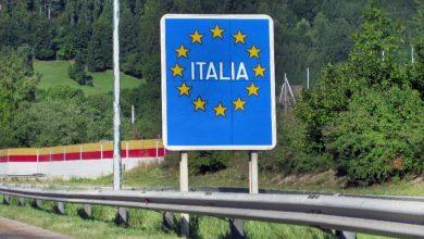 Șoferii de camion sunt obligați să aibă o declarație pentru a intra în Italia
