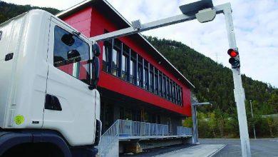 Peste 90.000 de camioane, autocare și autoutilitarele controlate în Elveția în 2019
