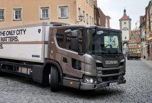 Scania L poate fi echipat și cu propulsorul de 7 litri