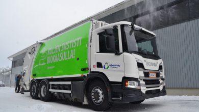 Camioane cu biogaz Scania P340 pentru colectarea deșeurilor în Finlanda