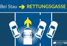 Din 2021, Elveția obligă șoferii de camion să formeze culoar de salvare