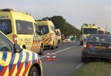Doi lucrători români au murit într-un grav accident rutier de microbuz, produs în Olanda