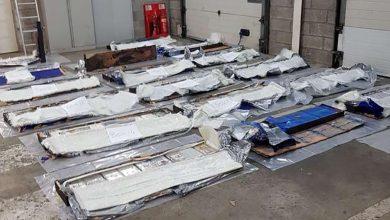 Șofer român de camion prins în Franța cu 260 de kilograme de cocaină