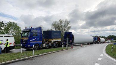 Convoi agabaritic din Polonia blocat din cauza planului de transport întocmit greșit