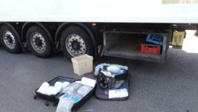 Șofer italian de camion prins cu 48 de kilograme de droguri în Germania