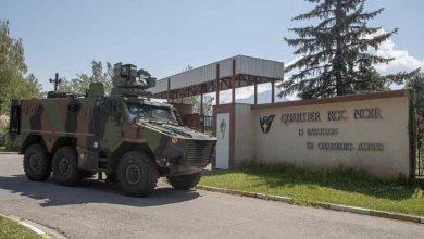 Armata franceză testează noul vehicul militar Griffon în Alpi