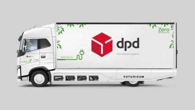 DPD Elveția a achiziționat un camion electric Futuricum cu autonomie de 760 km