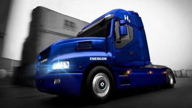 Energon, un camion cu hidrogen bazat pe modelul IVECO Strator