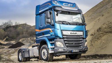 DAF CF și XF 4x2 disponibile opțional cu axă față acționată hidrostatic
