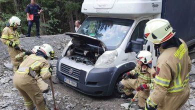 Un șofer român de autoutilitară a ajuns pe munte în Tirol în loc de Bologna