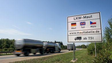 În aprilie, traficul camioanelor a scăzut cu 10.9% în Germania, comparativ cu luna martie