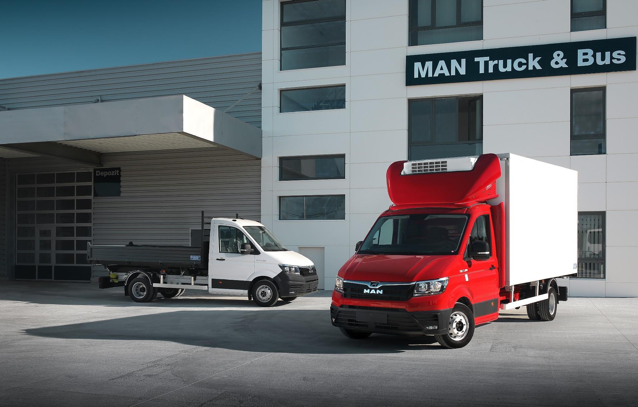 Noul MAN TGX și MAN TGE sunt disponibile oficial în România