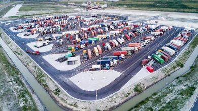 Maasvlakte Plaza, cea mai mare parcare securizată pentru camioane din lume