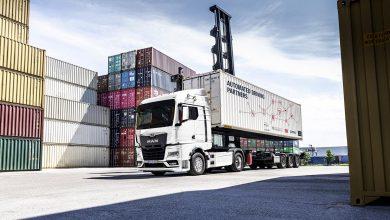 Un MAN TGX complet autonom va transporta containere în Germania