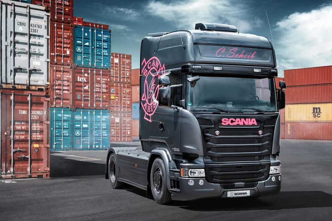 """Christina Scheib: """"Scania a fost întotdeauna camionul perfect pentru mine"""""""
