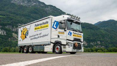 Renault Trucks T 520 P6x2, noul camion al școlii de șoferi Markus Rubatscher