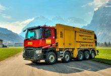 Excavator de vid montat pe șasiu Renault Trucks C520 P10x4 TAG