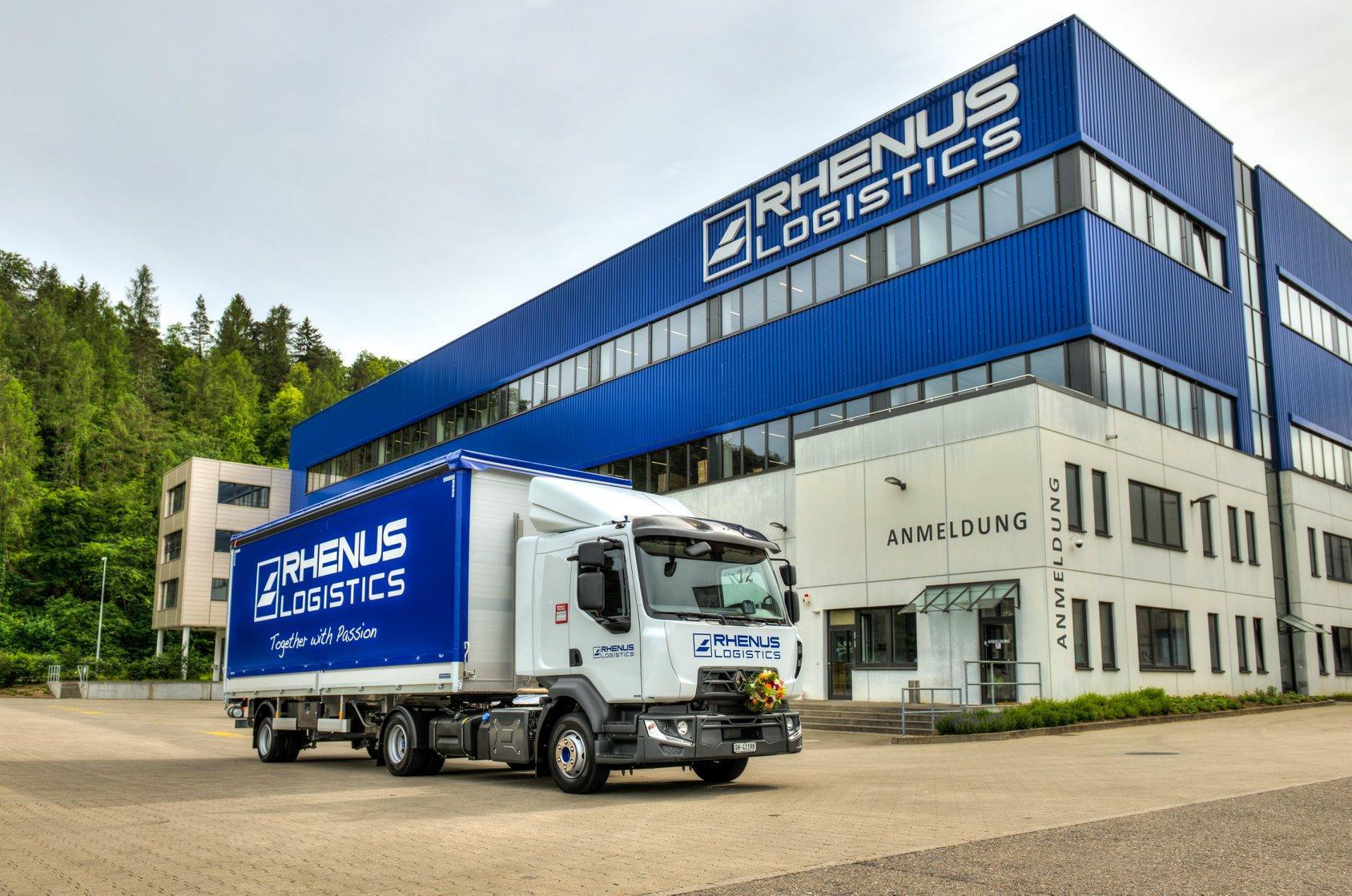 Renault Trucks D10 240 4x2, ideal pentru distribuția de mărfuri vrac