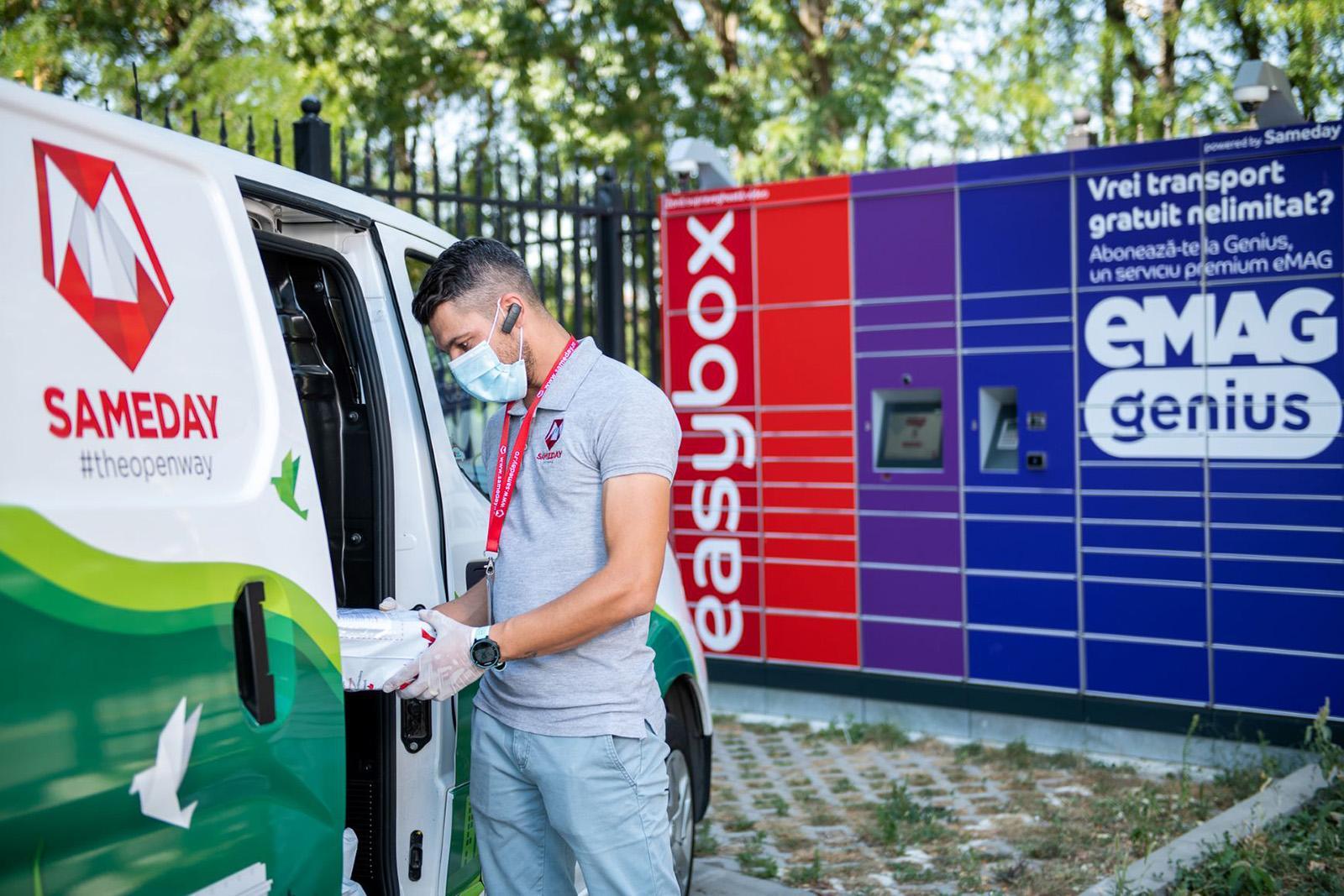 Sameday extinde rețeaua easybox la 1.000 de lockere la nivel național