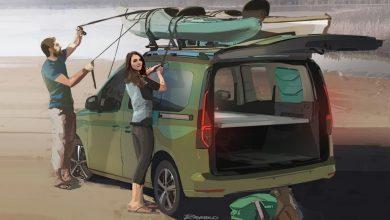 Primele imagini cu viitorul Volkswagen Mini Camper, fostul Caddy Beach