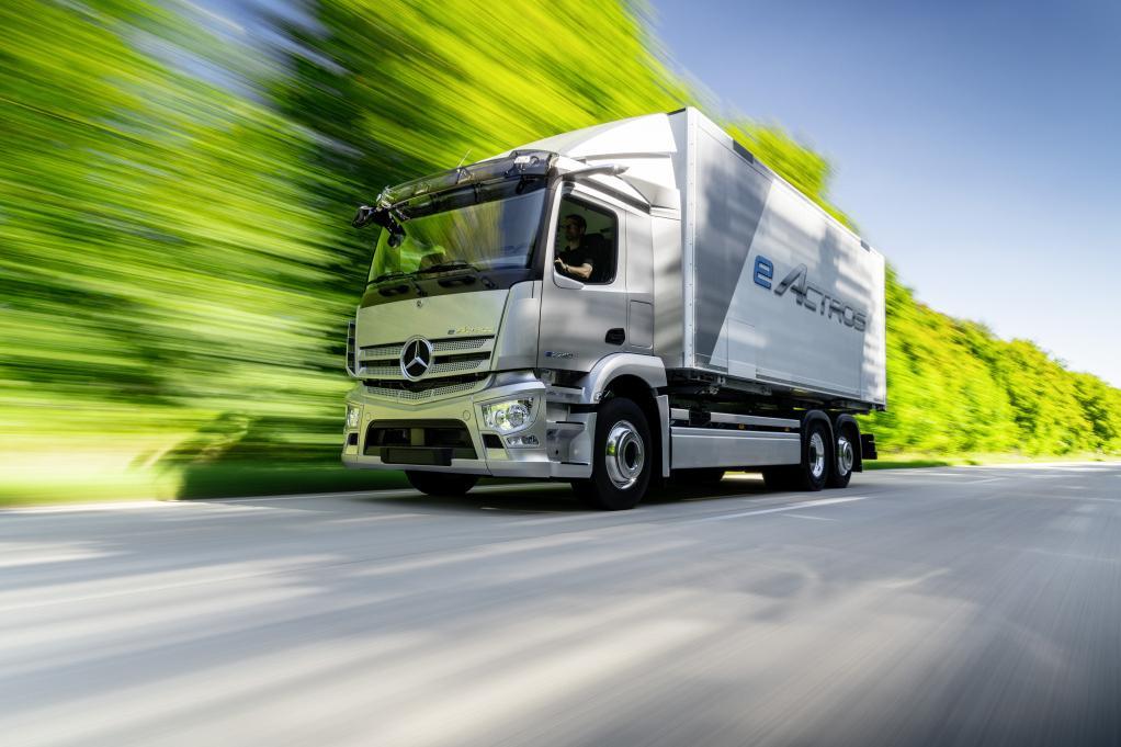Mercedes-Benz GenH2, primul camion cu hidrogen a lui Daimler Trucks