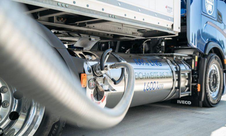 Camioanele cu LNG sunt mai eficiente decât cele cu motoare diesel