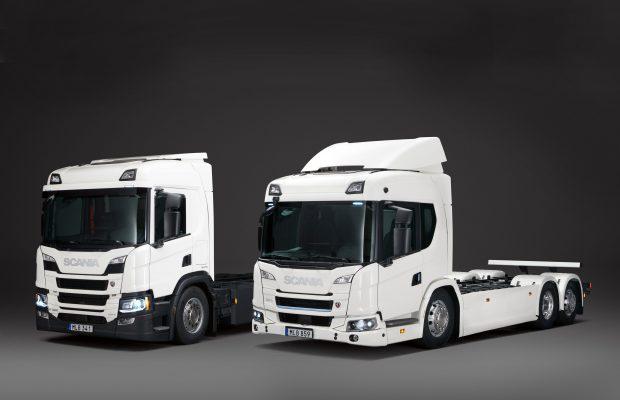 Scania a lansat prima gamă comercială de camioane electrice