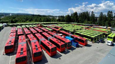 127 de autobuze MAN Lion's City pentru transportul public din Oslo