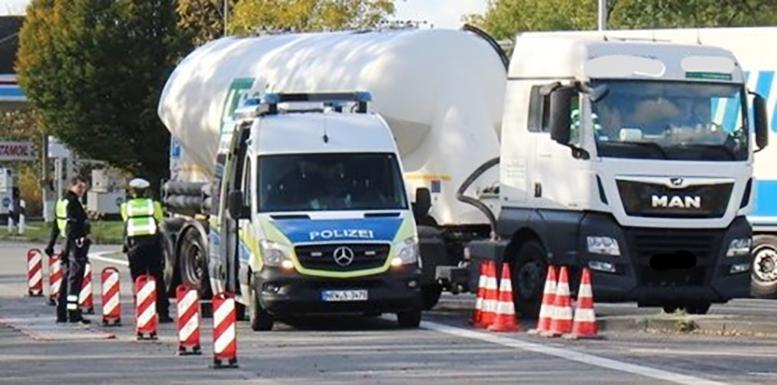 Germania: Șoferul unui camion din Slovenia amendat cu 30.000 de euro