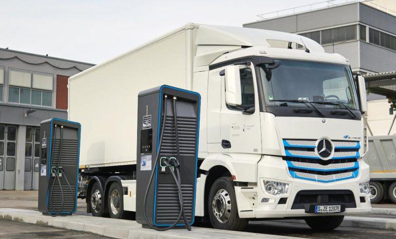 Germania are nevoie de peste 1.000 de stații de încărcare pentru camioane electrice