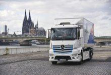 Mercedes-Benz a demarat a doua fază a testelor cu eActros