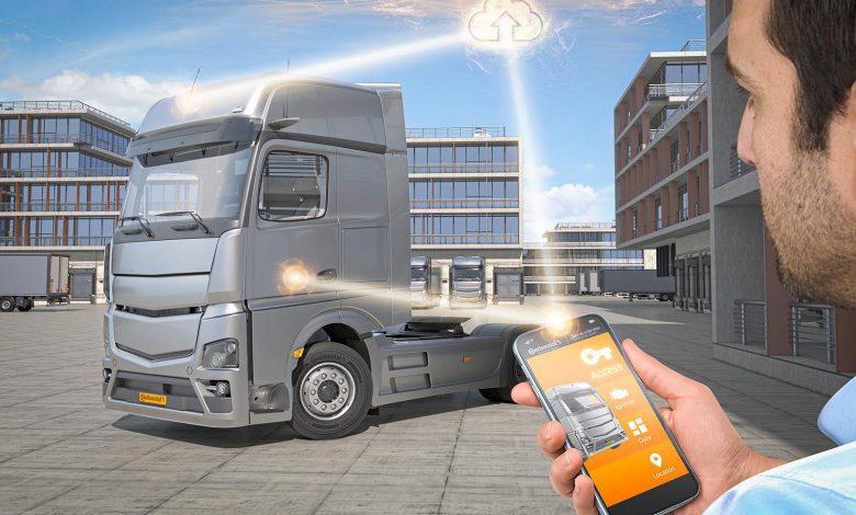 Key as a Service de la Continental transformă telefonul mobil într-o cheie de acces în camion